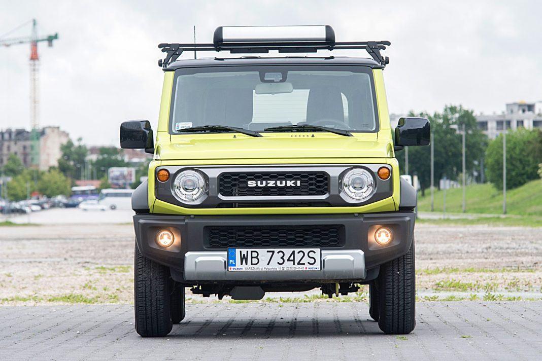 Suzuki Jimny – przód