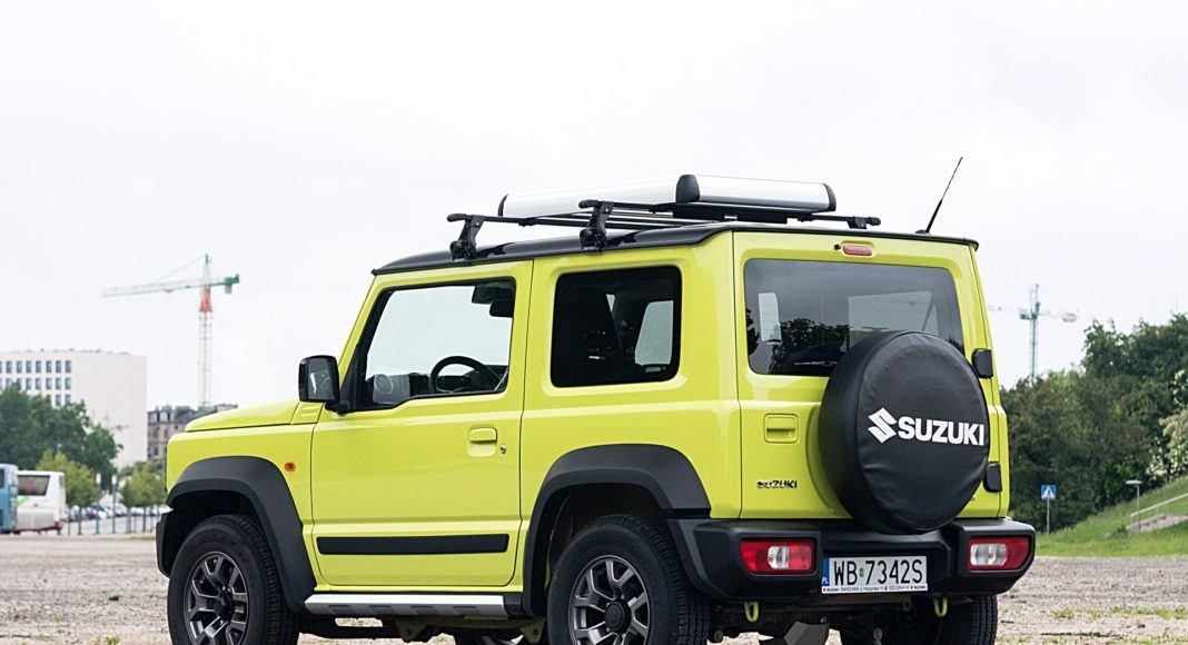 Suzuki Jimny – tył