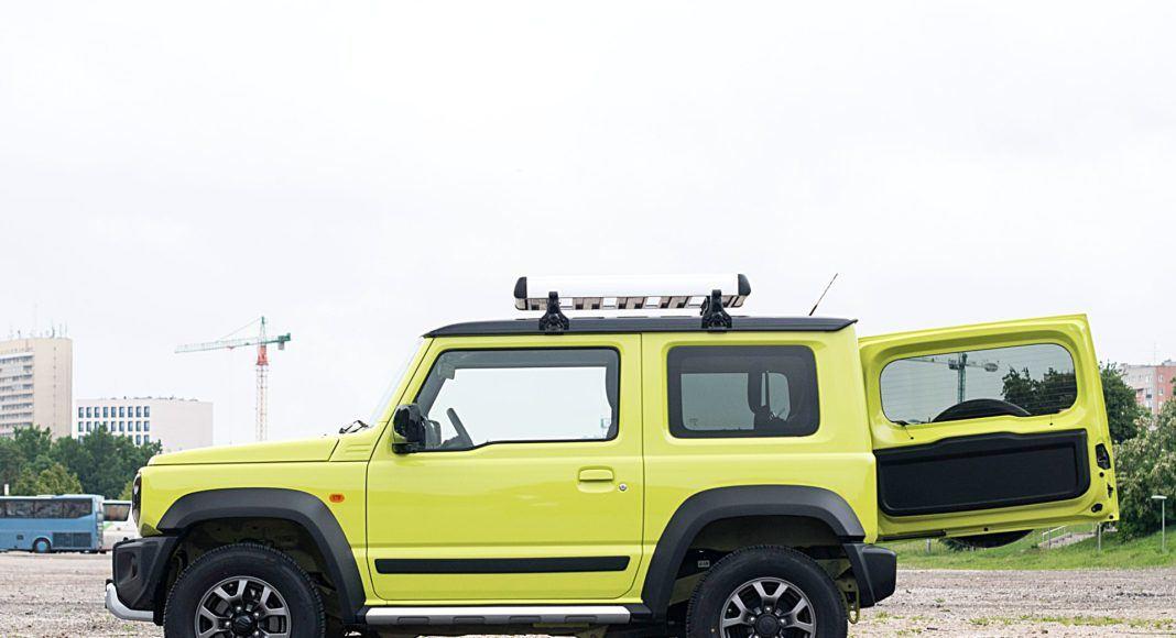 Suzuki Jimny – bok bagażnik