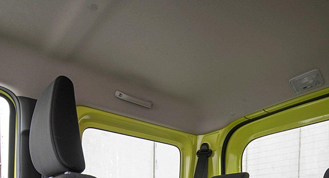 Suzuki Jimny – fotele z tyłu
