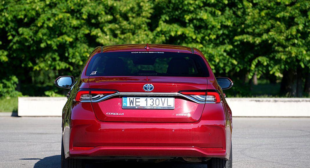 Toyota Corolla Hybrid –tył