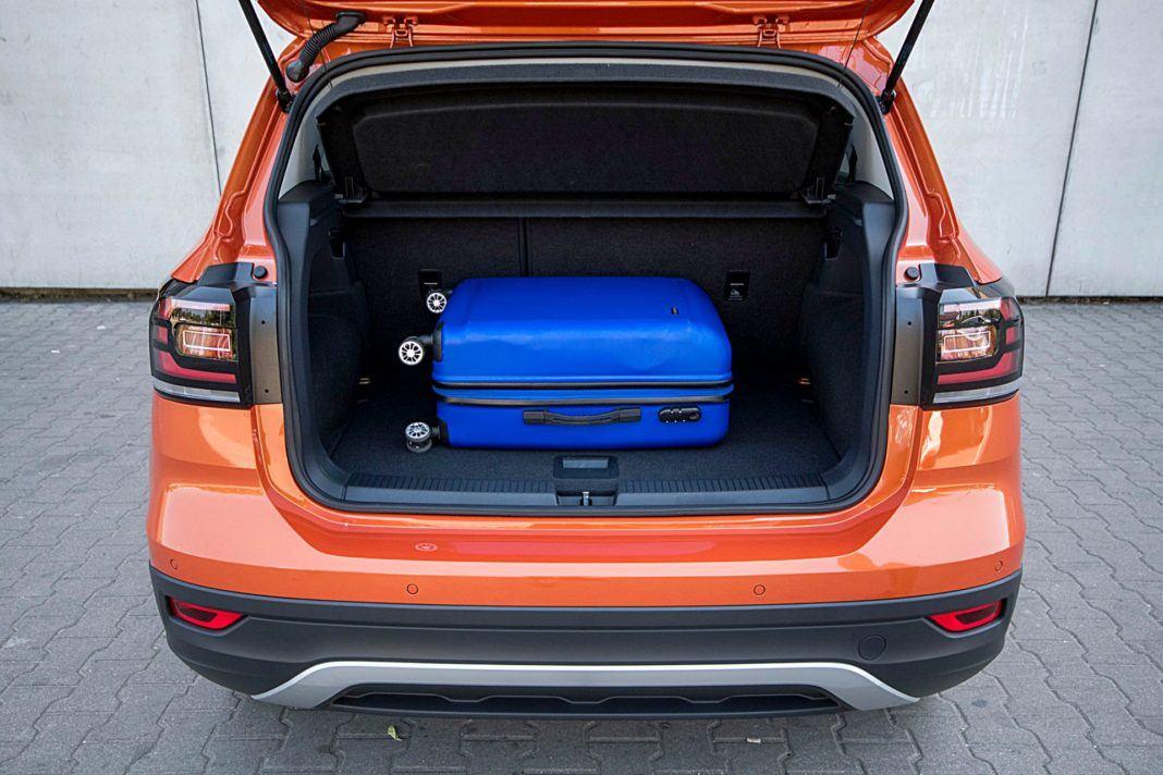 VW T-Cross – bagażnik