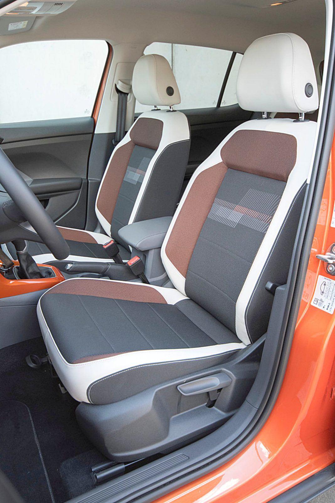 VW T-Cross – fotele