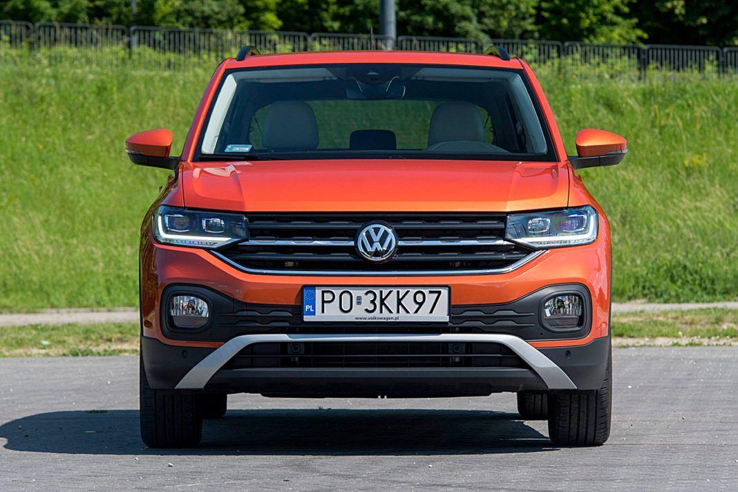 VW T-Cross – przód