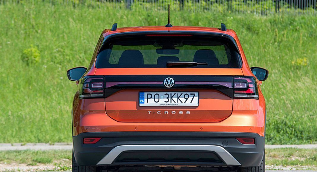 VW T-Cross – tył