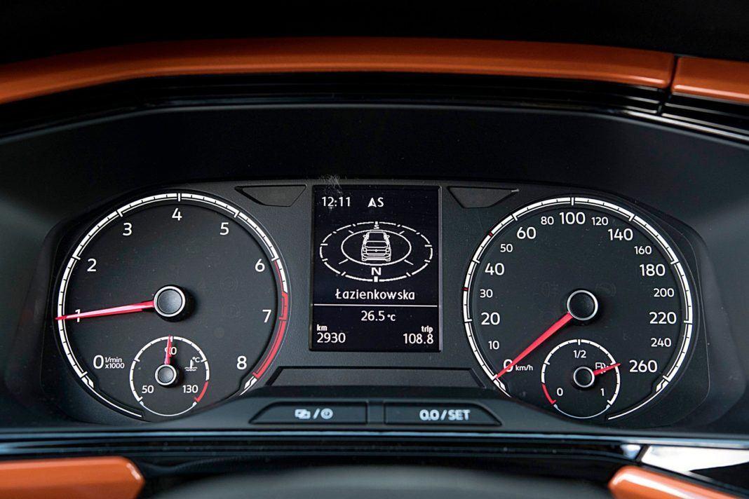 VW T-Cross – wskaźniki