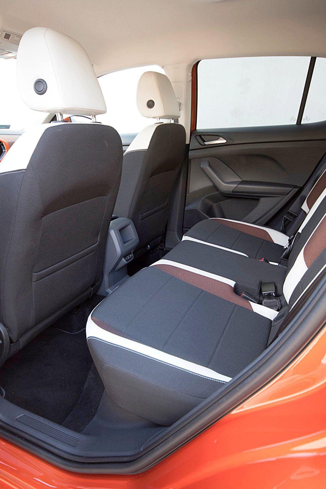 VW T-Cross – kanapa