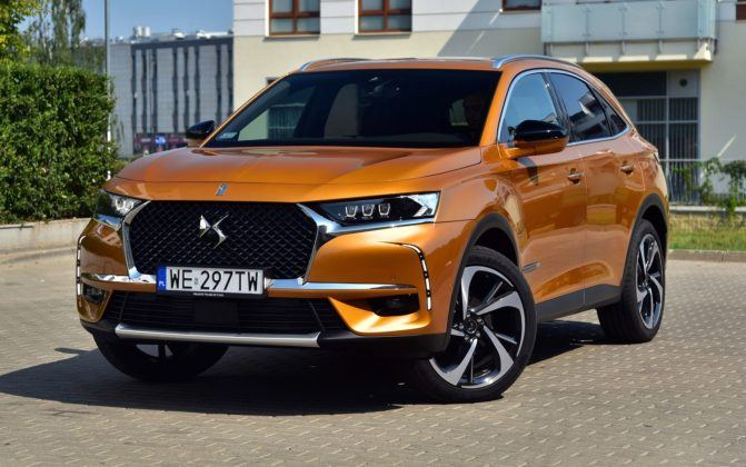 DS 7 Crossback Grand Chic 1.6PureTech 225KM 8AT EAT8 WE297TW 08-2018