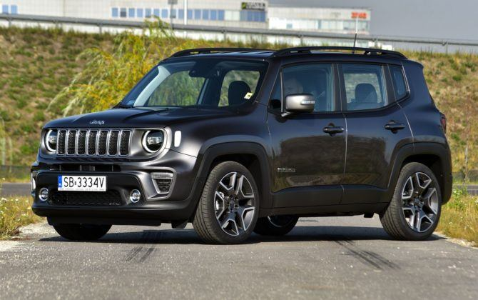JEEP Renegade I FL Limited 1.3T GSE Firefly Turbo 150KM 6AT DCT FWD SB3334V 10-2018