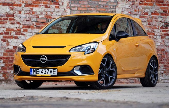 OPEL Corsa E GSi 1.4T 150KM 6MT FWD WE437VE 05-2019