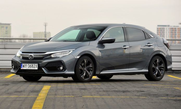 HONDA Civic X Prestige 1.5T VTEC Turbo 182KM AT CVT WY3682X 02-2019