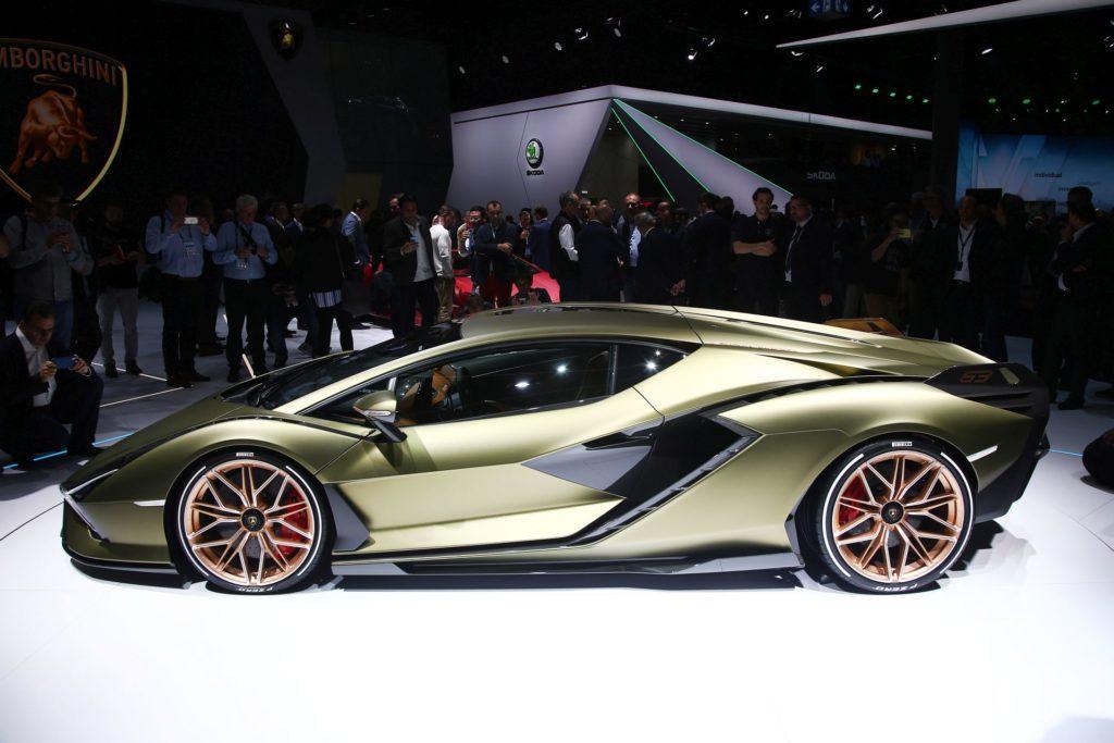 Salon Frankfurt 2019 - Lamborghini Sián