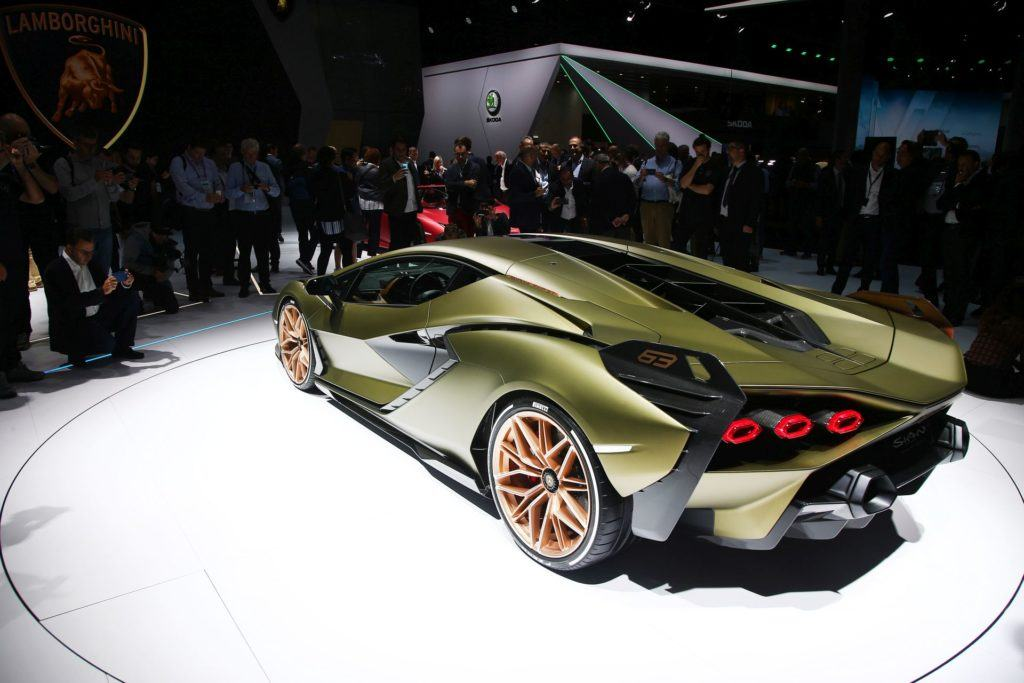 Salon Frankfurt 2019 - Lamborghini Sián (2)