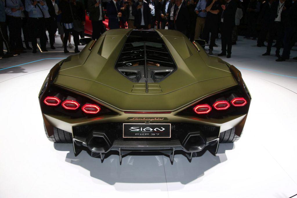 Salon Frankfurt 2019 - Lamborghini Sián (3)