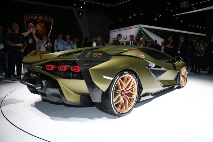 Salon Frankfurt 2019 - Lamborghini Sián (4)