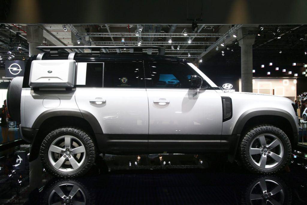 Salon Frankfurt 2019 - Land Rover Defender (8)