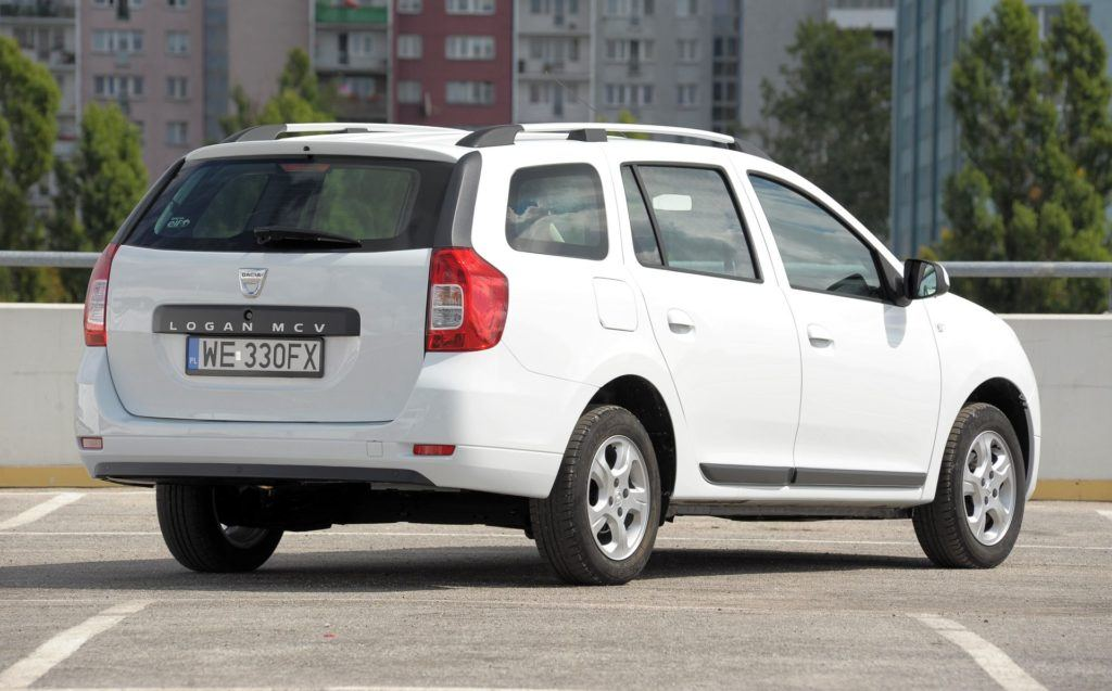 DACIA Logan II MCV Laureate 1.2 16V LPG 75KM 5MT WE330FX 08-2013