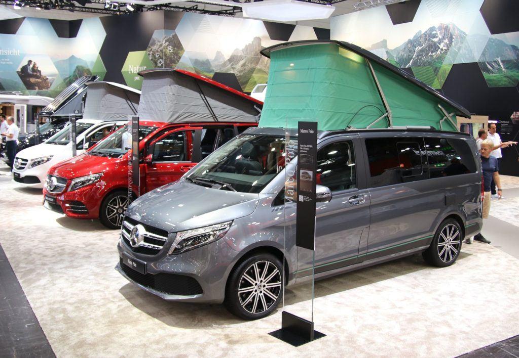 Targi caravaningu w Dusseldorfie - Mercedes Marco Polo