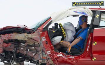 Tesla Model 3 po crash teście