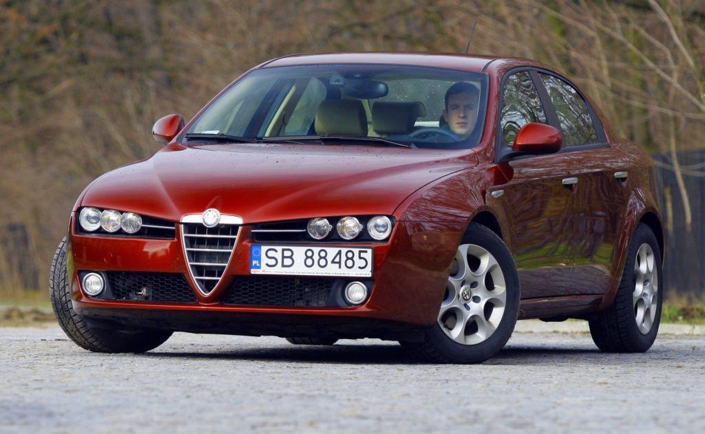 ALFA ROMEO 159 1.9JTDm 16V 150KM 6MT SB88485 03-2007