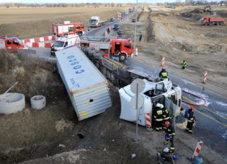 Coraz mniej wypadków w Europie. W Polsce nadal ginie sporo osób