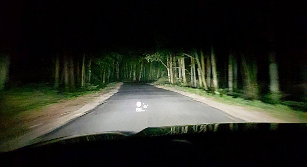 Audi S7 Sportback – światła laserowe