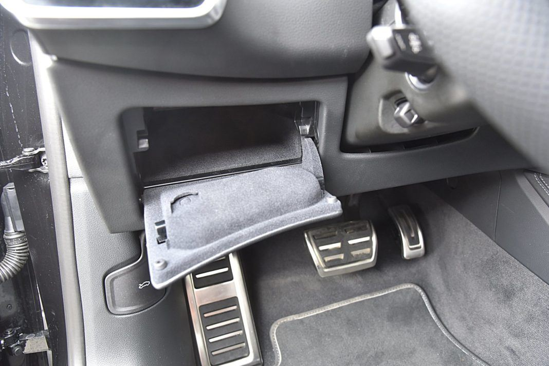 Audi S7 Sportback – schowek