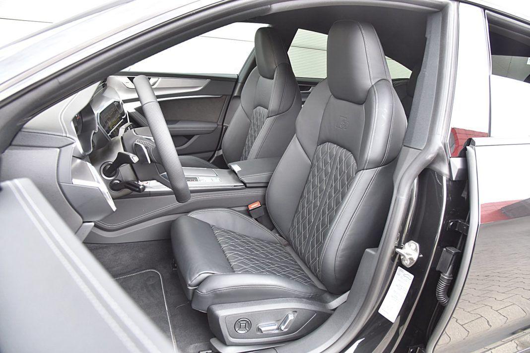 Audi S7 Sportback – fotele