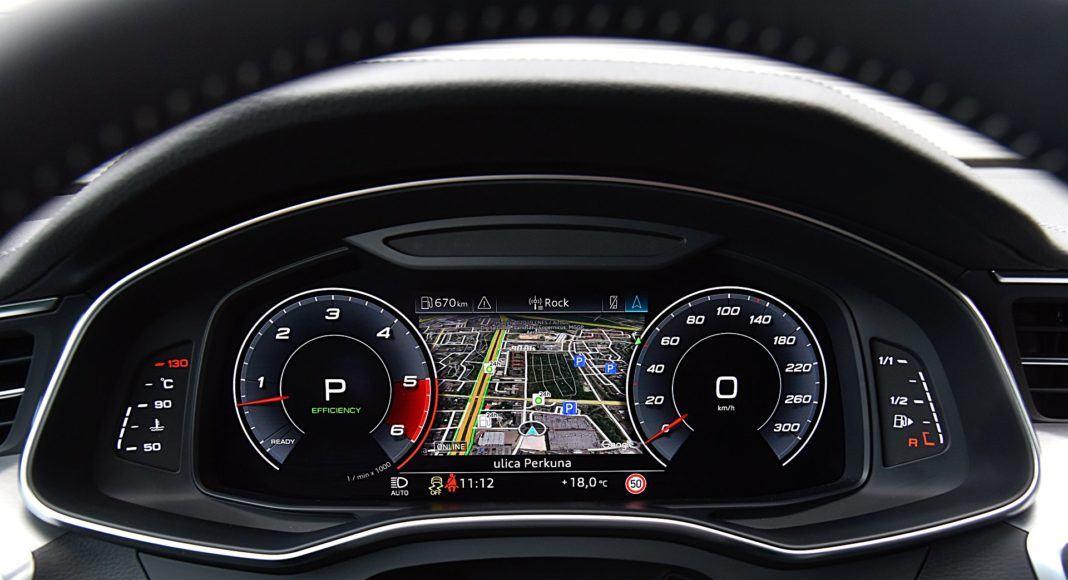 Audi S7 Sportback – wskaźniki