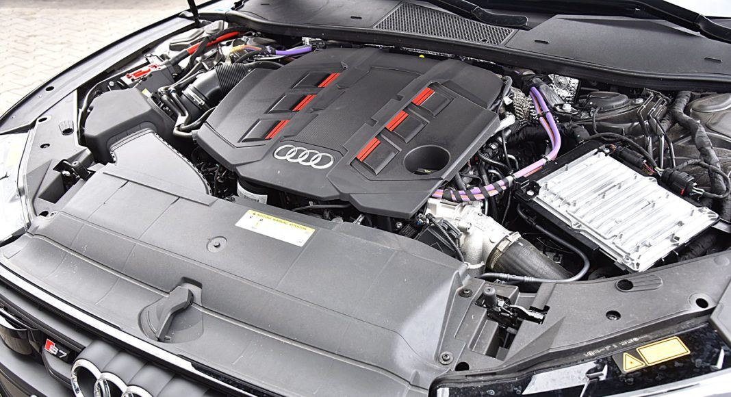 Audi S7 Sportback – silnik