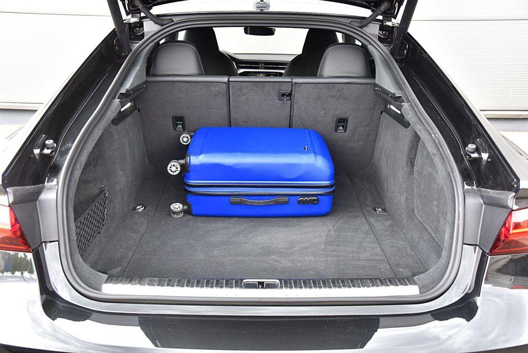 Audi S7 Sportback – bagażnik
