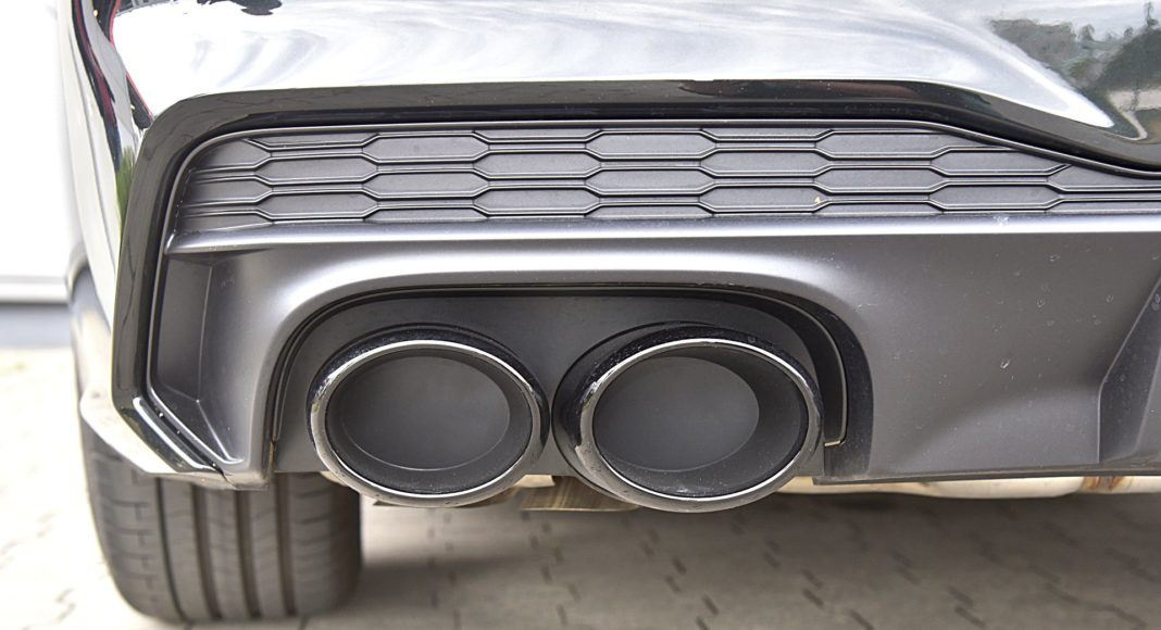 Audi S7 Sportback – końcówki wydechu