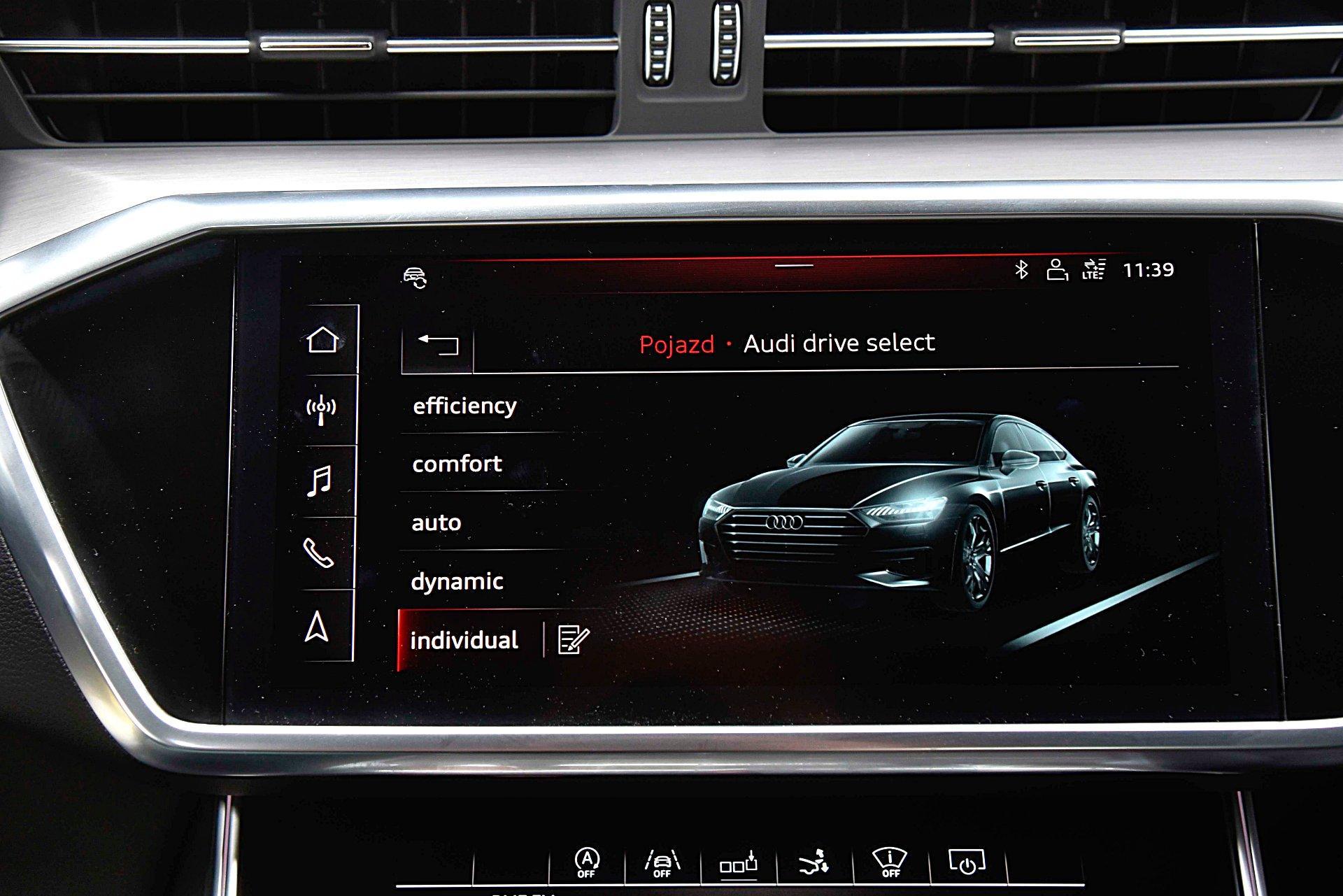 AUDI S7 Sportback ustawienia