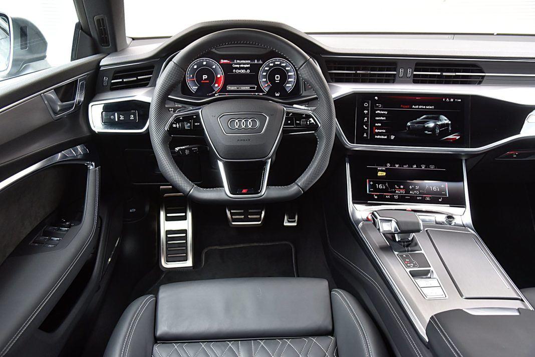 Audi S7 Sportback – deska rozdzielcza