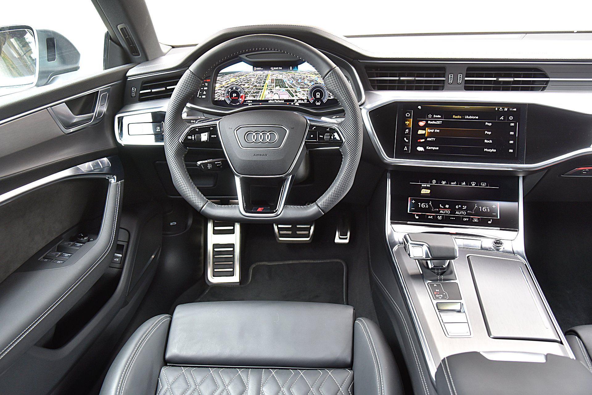 AUDI S7 Sportback deska rozdzielcza