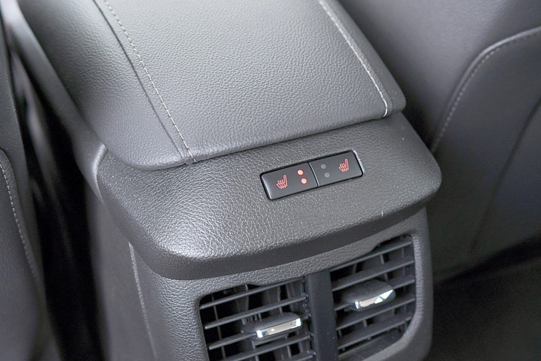 Ford Mondeo Kombi Hybrid – ogrzewanie foteli