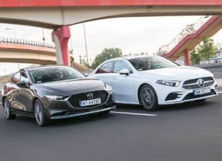 Mazda 3 Sedan, Mercedes klasy A Limuzyna – PORÓWNANIE