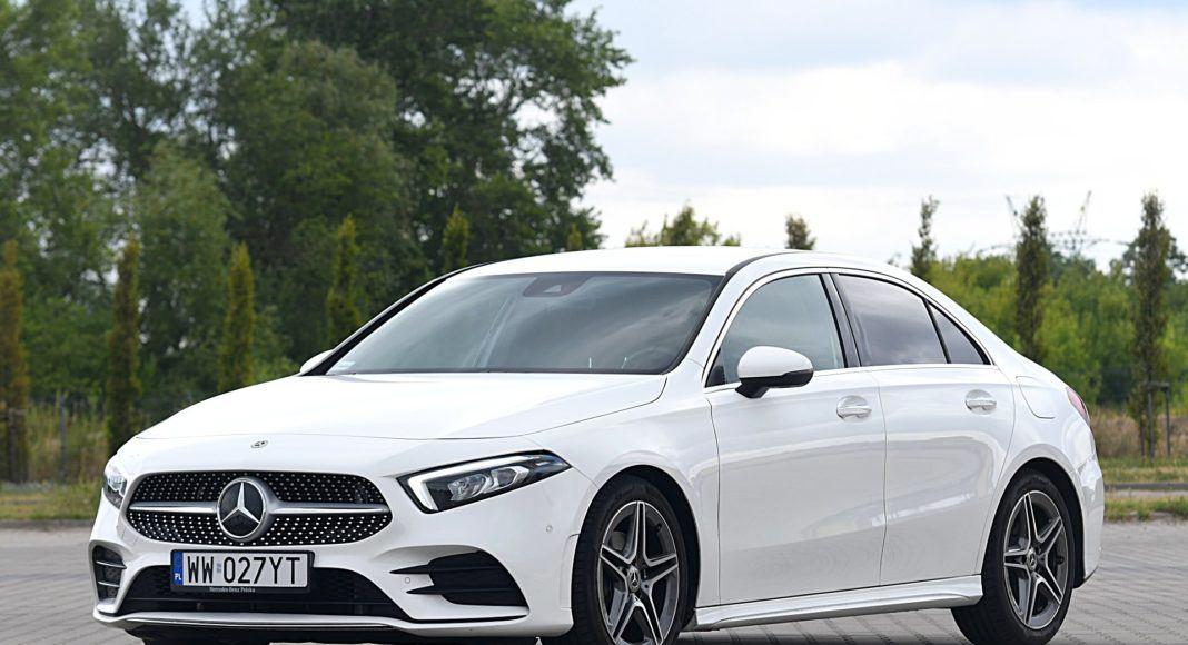 Mercedes klasy A Limuzyna – przód