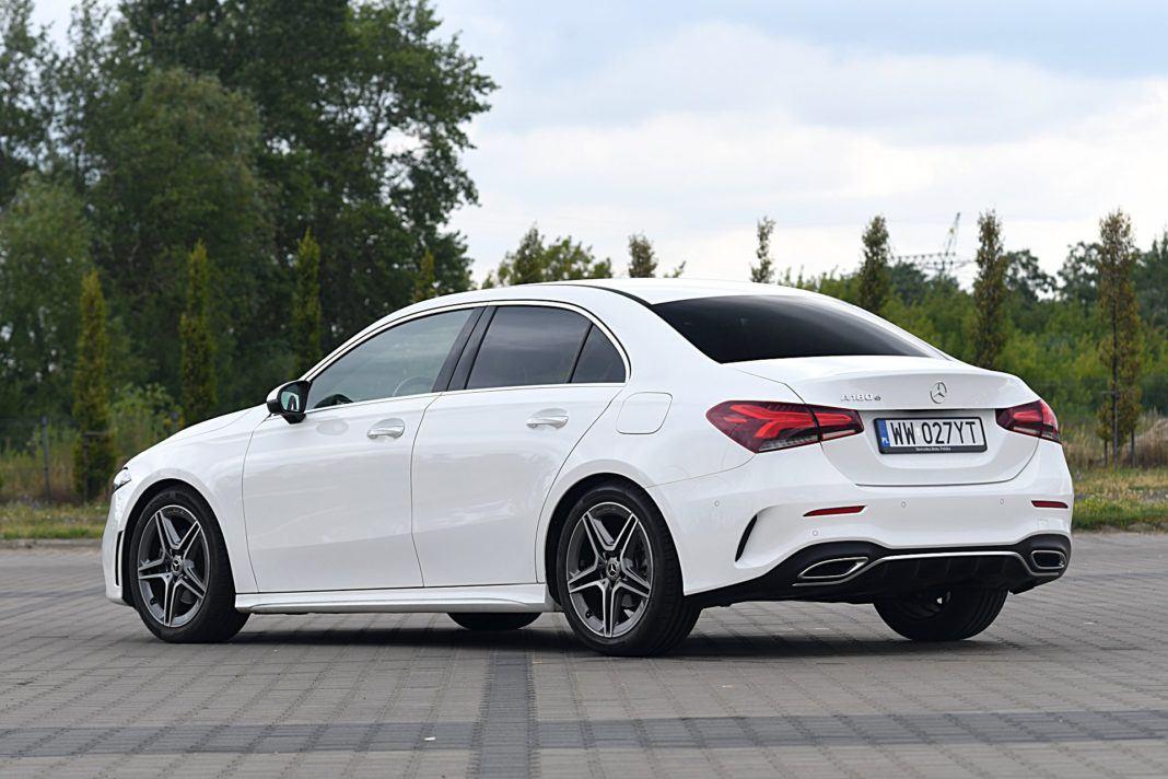 Mercedes klasy A Limuzyna – tył
