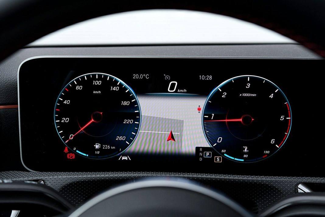 Mercedes klasy A Limuzyna – wskaźniki