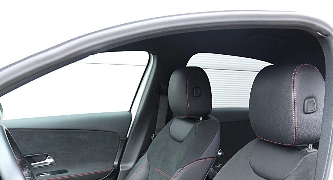 Mercedes klasy A Limuzyna – fotele