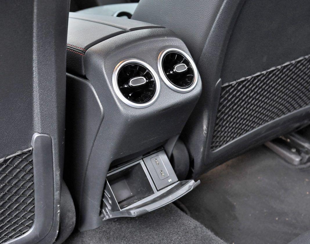 Mercedes klasy A Limuzyna – nawiewy powietrza