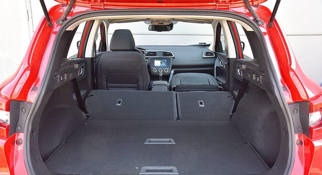 Renault Kadjar – bagażnik