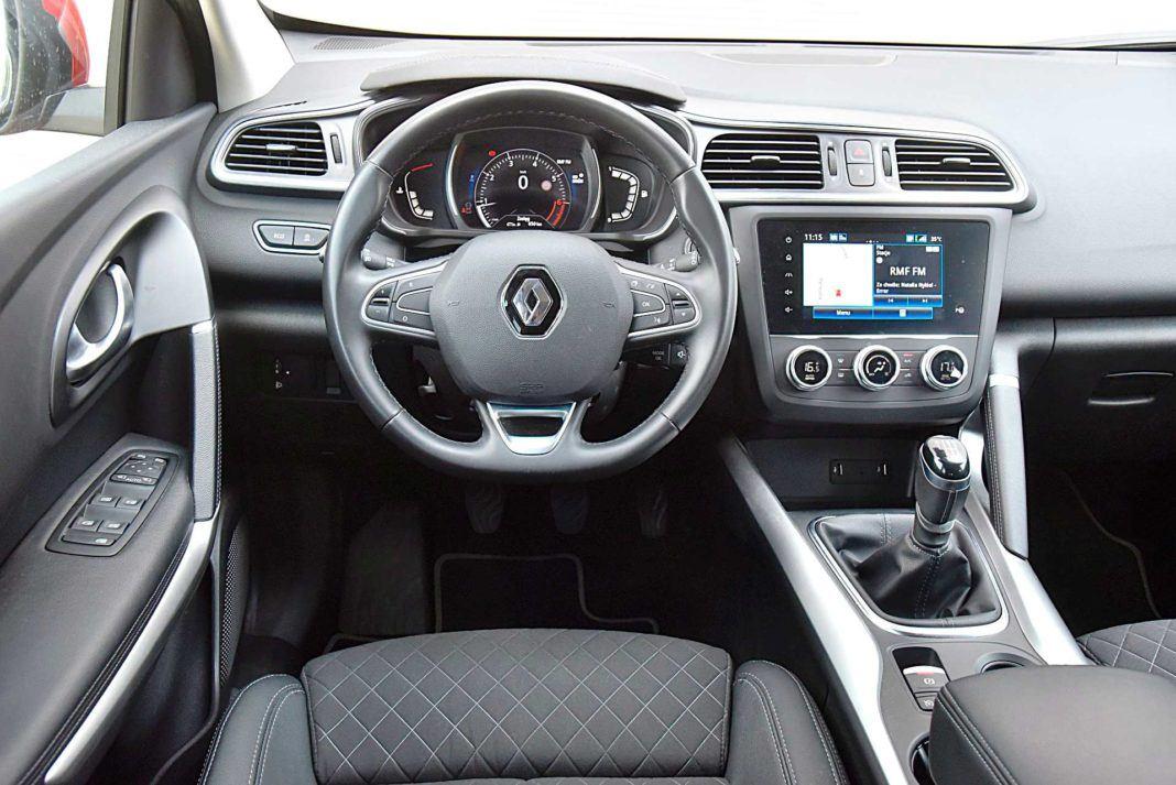 Renault Kadjar – deska rozdzielcza