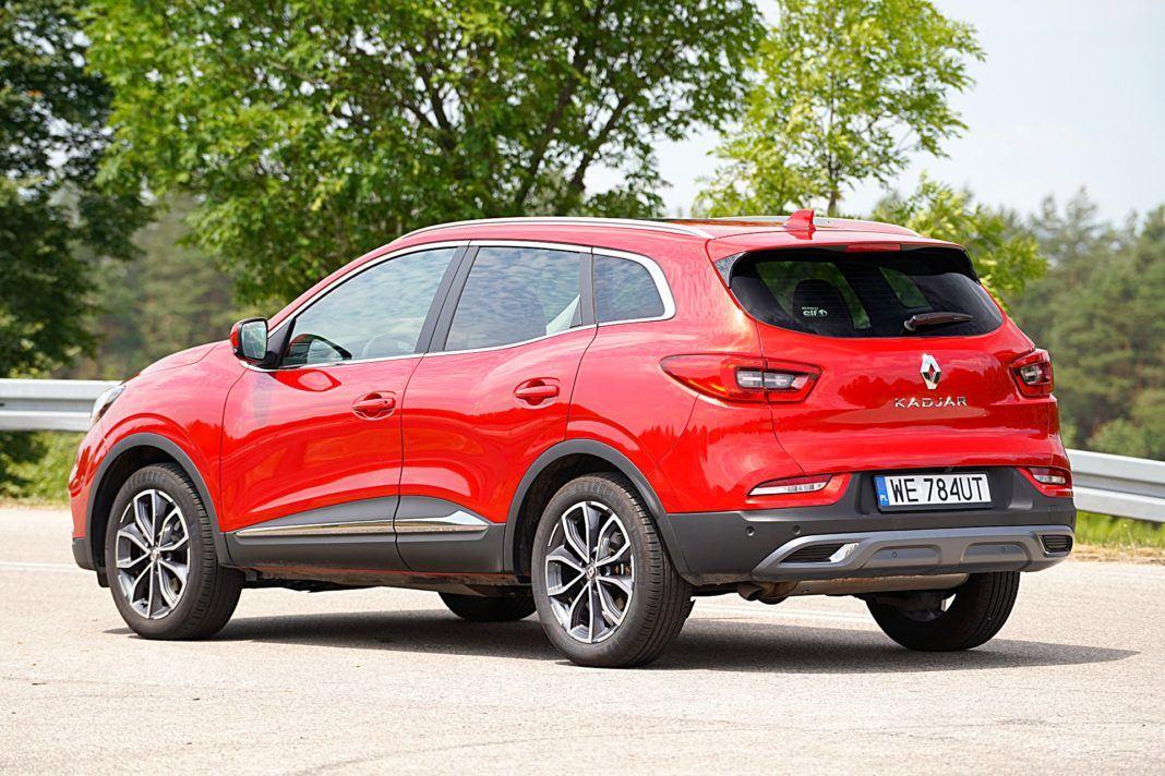 Renault Kadjar – tył