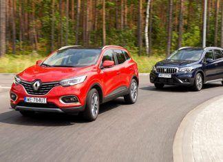 Renault Kadjar, Suzuki SX4 S-Cross – PORÓWNANIE