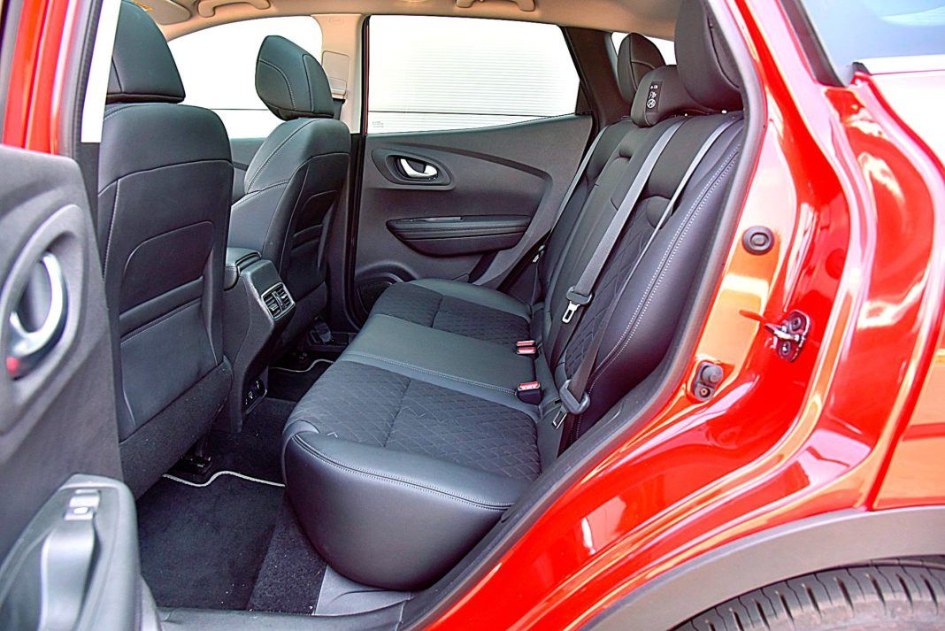 Renault Kadjar – kanapa