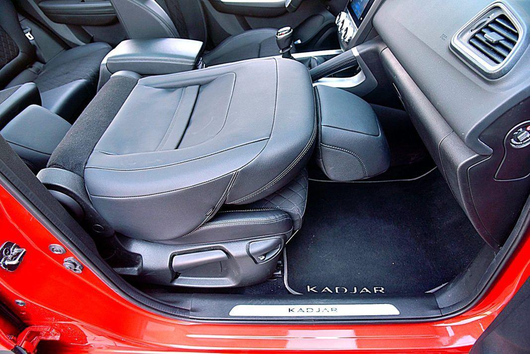 Renault Kadjar – składany fotel