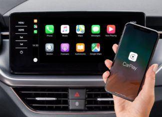 Skoda Kamiq i Scala z bezprzewodowym interfejsem Apple CarPlay