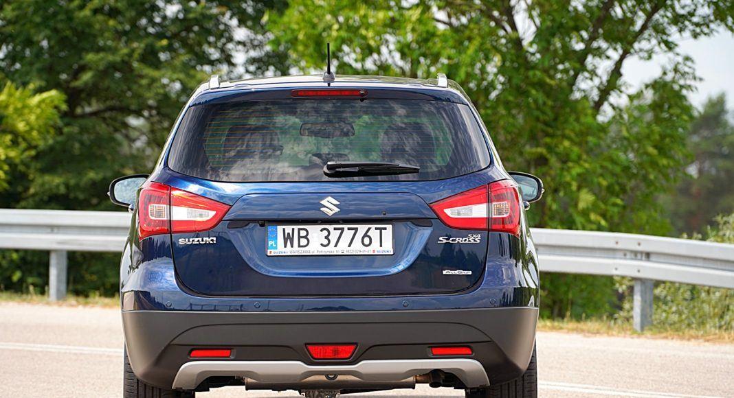 Suzuki SX4 S-Cross – tył